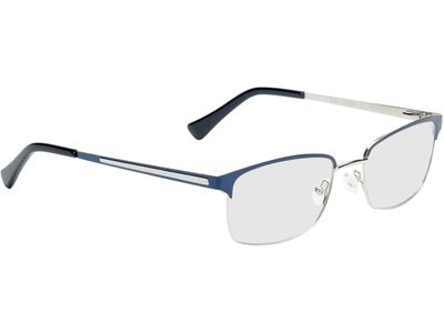 Brille Tarent-dunkelblau/silber