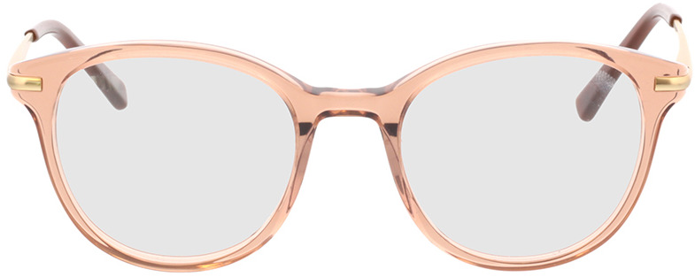 Picture of glasses model Sienna-beige transparent in angle 0