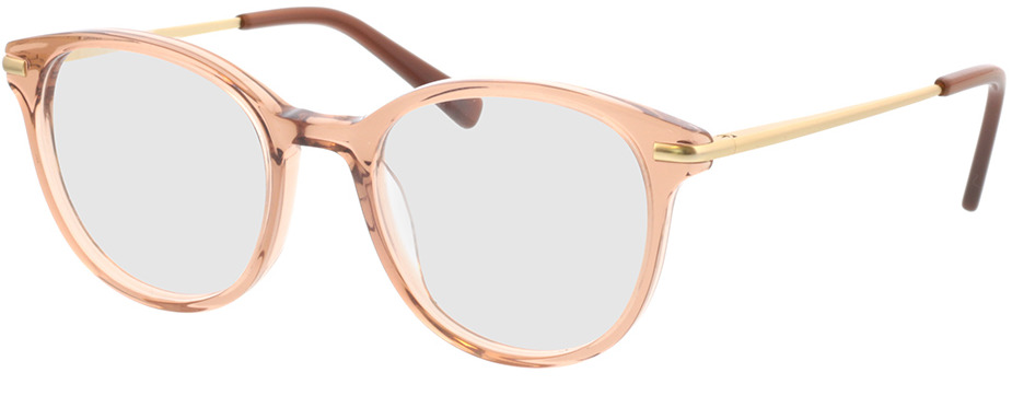 Picture of glasses model Sienna-beige transparent in angle 330