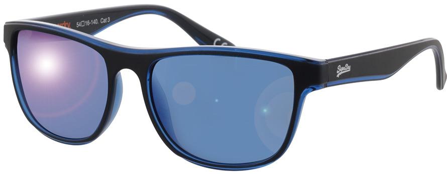 Picture of glasses model Superdry SDS Rockstep 112 black/blue 54-16 in angle 330