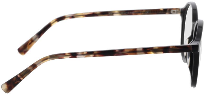 Picture of glasses model Reso-schwarz in angle 90