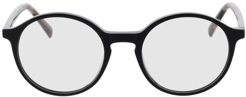 Picture of glasses model Reso-schwarz in angle 0