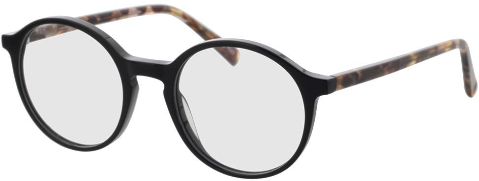 Picture of glasses model Reso-schwarz in angle 330