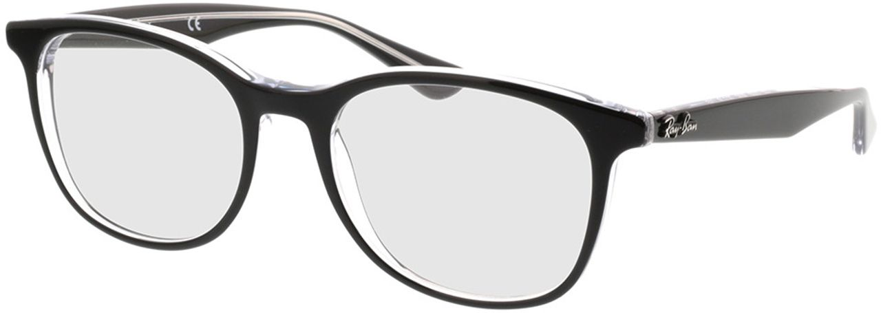 Picture of glasses model Ray-Ban RX5356 2034 54-19 in angle 330