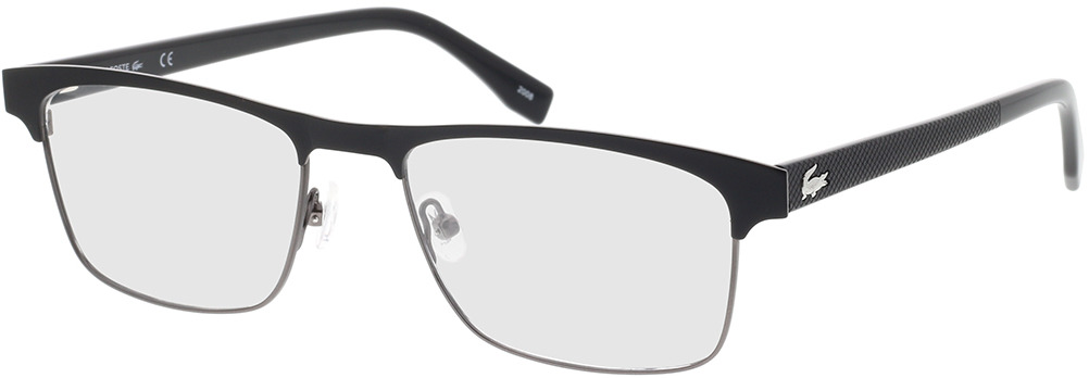 Picture of glasses model Lacoste L2198 001 55-18 in angle 330