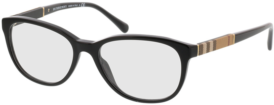 Picture of glasses model Burberry BE2172 3001 52-16 in angle 330