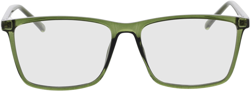 Picture of glasses model Nolba-grün-transparent in angle 0
