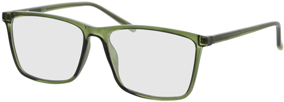 Picture of glasses model Nolba-grün-transparent in angle 330