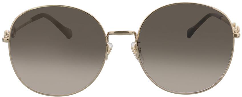 Picture of glasses model Gucci GG0881SA-002 59-19 in angle 0