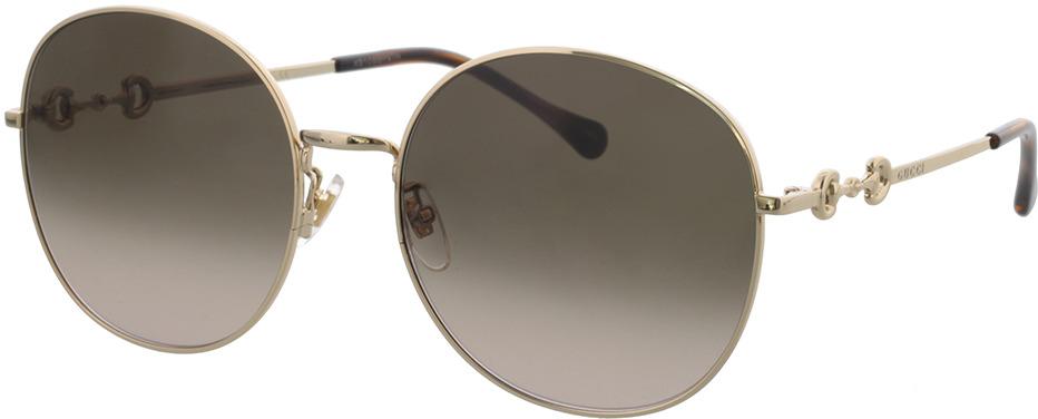 Picture of glasses model Gucci GG0881SA-002 59-19 in angle 330