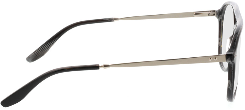 Picture of glasses model Pablo-schwarz transparent grau in angle 90