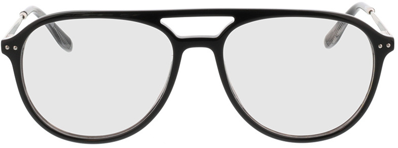 Picture of glasses model Pablo-schwarz transparent grau in angle 0