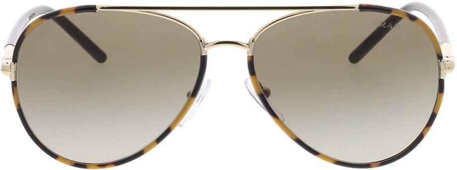 Picture of glasses model Prada PR 66XS 7S01X1 57-14 in angle 0
