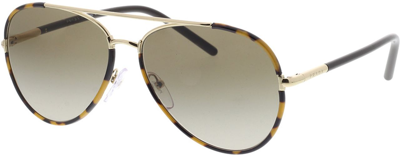 Picture of glasses model Prada PR 66XS 7S01X1 57-14 in angle 330