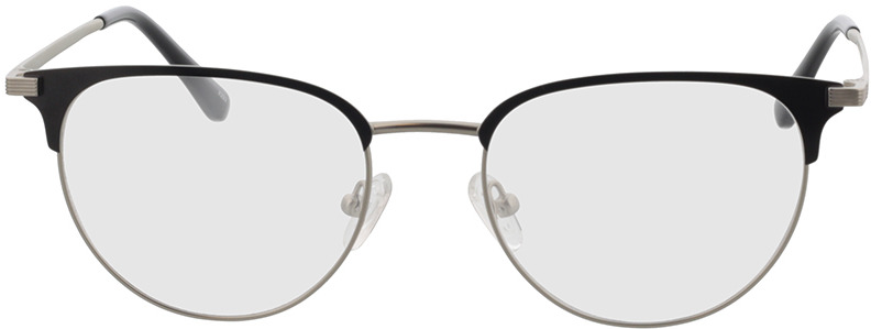 Picture of glasses model Roma mat zilver/mat zwart in angle 0