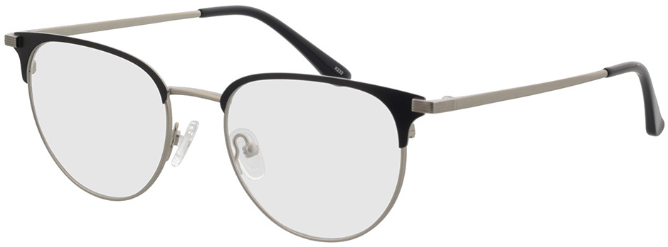 Picture of glasses model Roma mat zilver/mat zwart in angle 330