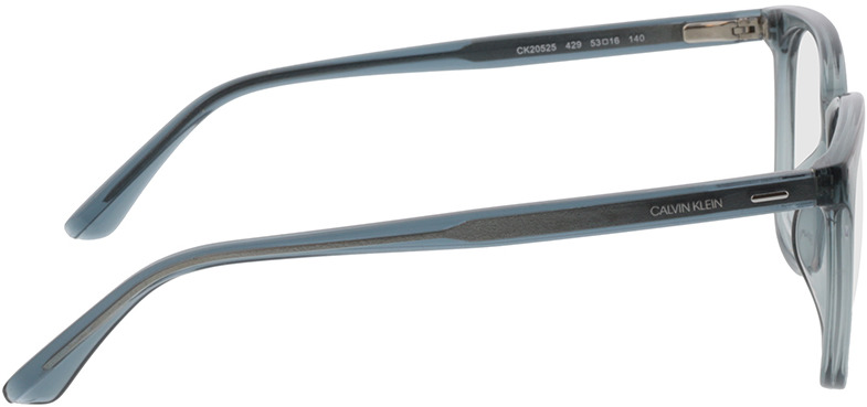 Picture of glasses model Calvin Klein CK20525 429 53-16 in angle 90