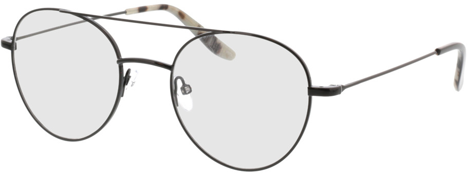 Picture of glasses model Logan-schwarz in angle 330
