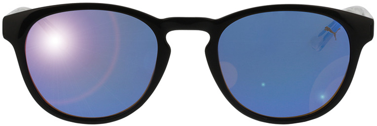 Picture of glasses model Puma PJ0024S-005 48-20 in angle 0