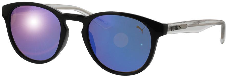 Picture of glasses model Puma PJ0024S-005 48-20 in angle 330