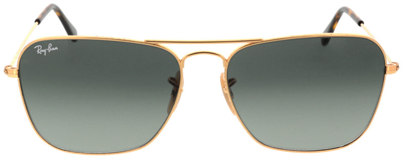 Picture of glasses model Ray-Ban Caravan RB3136 181/71 58-15 in angle 0