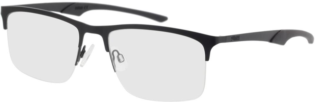 Picture of glasses model Puma PU0354O-001 57-19 in angle 330