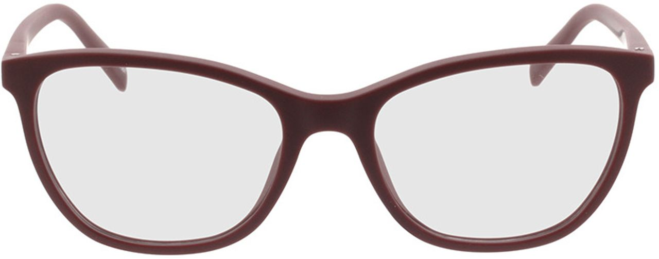 Picture of glasses model Salvia-dunkelrot in angle 0