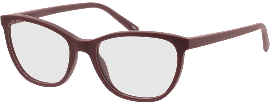 Picture of glasses model Salvia-dunkelrot in angle 330