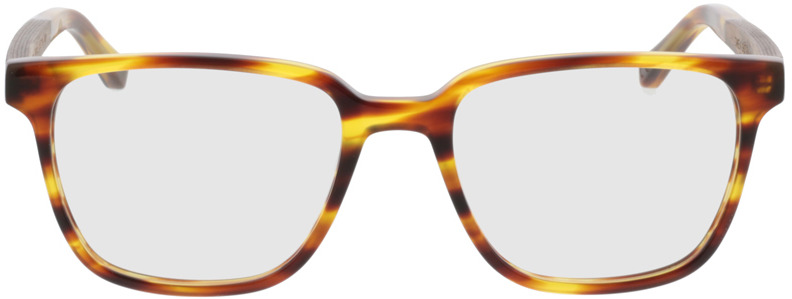 Picture of glasses model TAKE A SHOT Faro Honey RX: Walnussholz 50-19 in angle 0