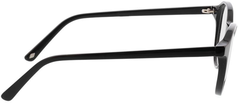 Picture of glasses model Kizar-schwarz in angle 90
