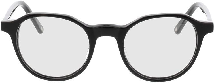 Picture of glasses model Kizar-schwarz in angle 0