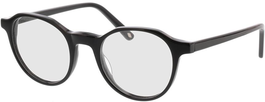 Picture of glasses model Kizar-schwarz in angle 330