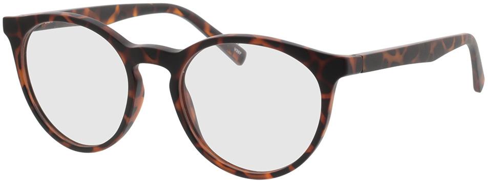 Picture of glasses model Oxalis bruin-gevlekt in angle 330