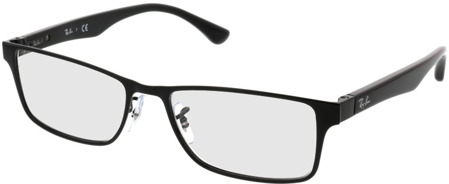 Picture of glasses model Ray-Ban RX6238 2509 55-17 in angle 330