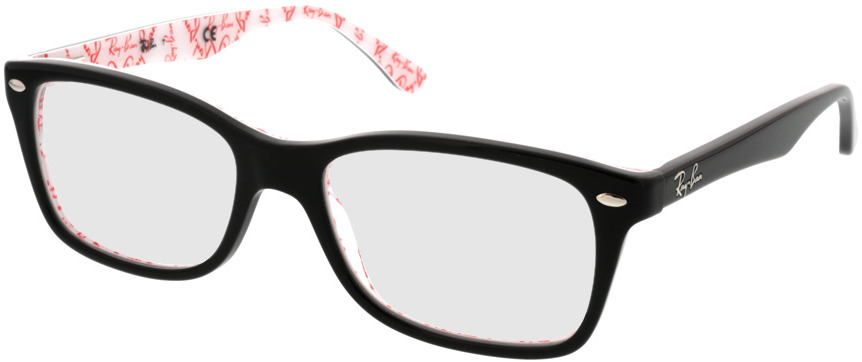 Picture of glasses model Ray-Ban RX5228 5014 53-17 in angle 330