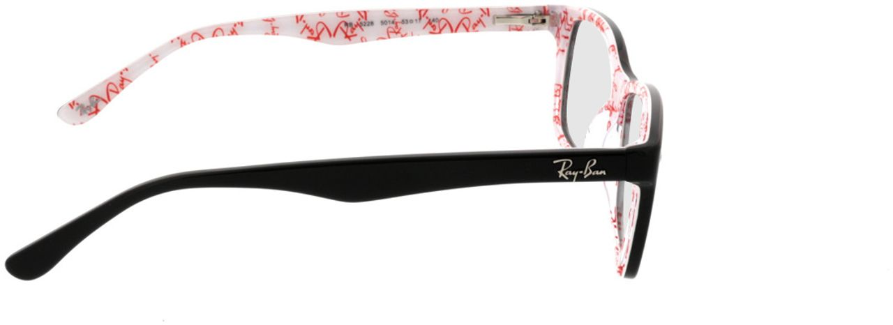Picture of glasses model Ray-Ban RX5228 5014 53-17 in angle 90