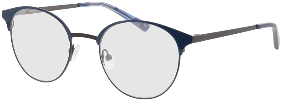 Picture of glasses model Lindale-azul/antracite in angle 330