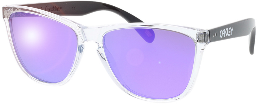 Picture of glasses model Oakley Frogskins 35th OO9444 944405 57-16 in angle 330
