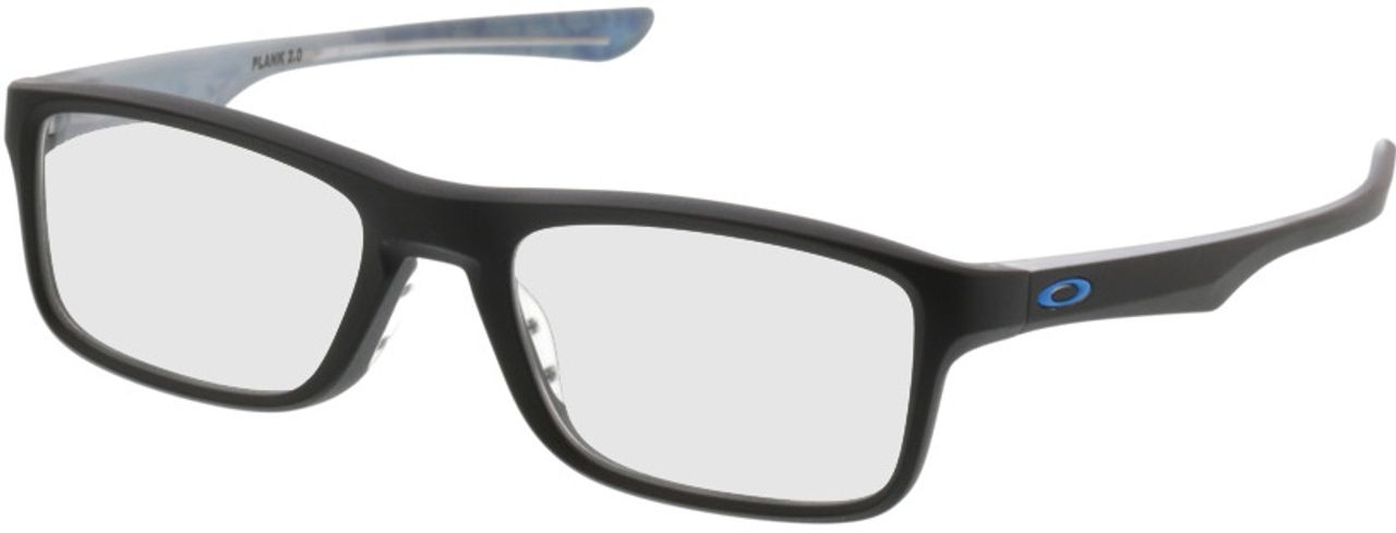 Picture of glasses model Oakley Plank 2.0 OX8081 01 51-18 in angle 330