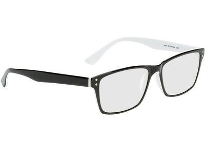 Brille München-schwarz/weiß