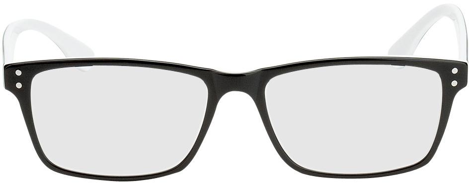 Picture of glasses model München black/white in angle 0