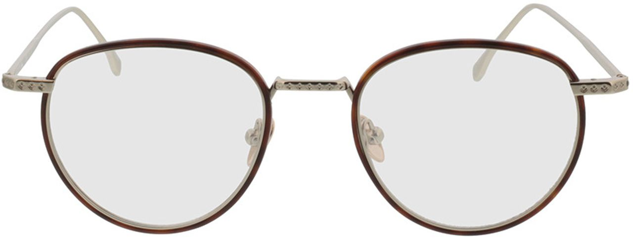 Picture of glasses model Lacoste L2602ND 214 48-20 in angle 0