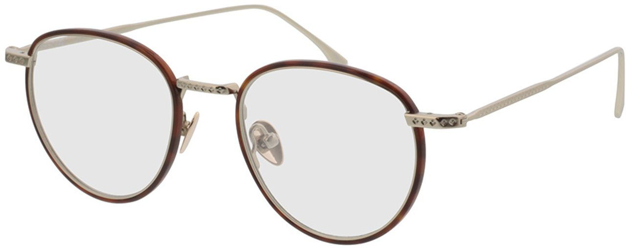 Picture of glasses model Lacoste L2602ND 214 48-20 in angle 330