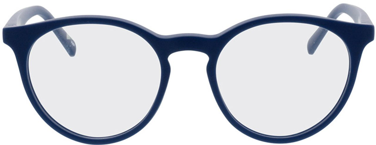 Picture of glasses model Oxalis-blau in angle 0