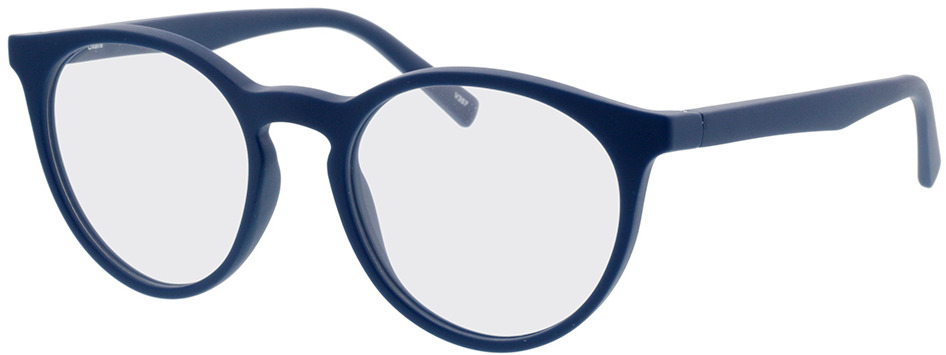 Picture of glasses model Oxalis blauw in angle 330