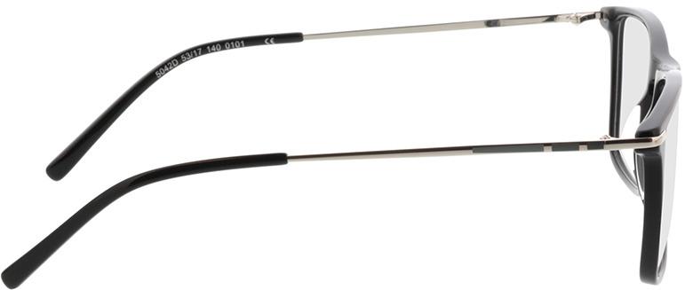 Picture of glasses model Aurel-schwarz in angle 90