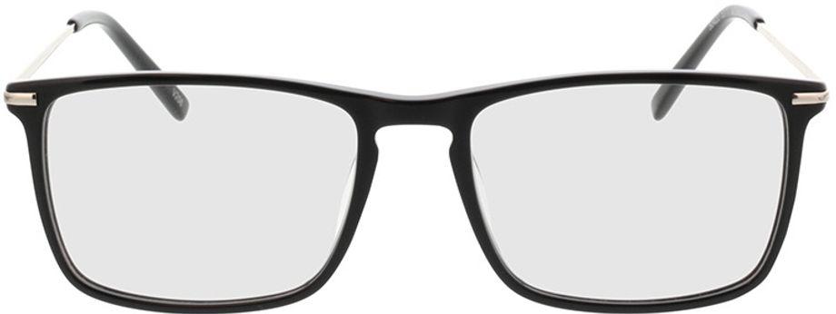 Picture of glasses model Aurel-schwarz in angle 0