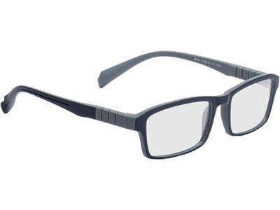 Brille Groningen-dunkelblau/grau