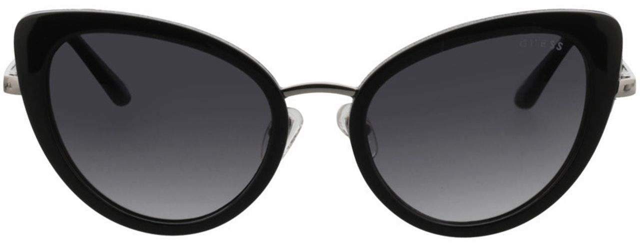 Picture of glasses model Guess GU7603 01B 52-20 in angle 0