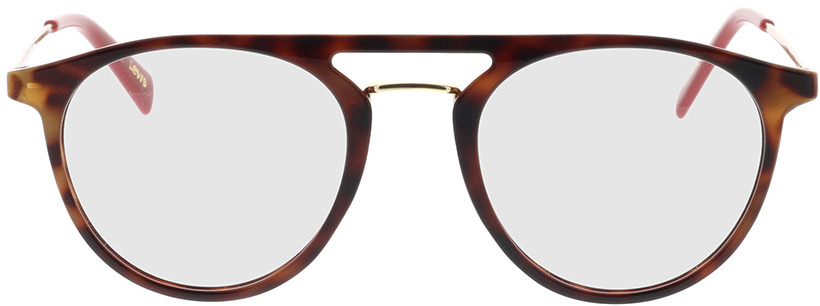 Picture of glasses model Levi's LV 1001 O63 51-21 in angle 0
